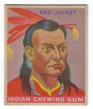 1933 Goudey #26 of 96 - Red Jacket - Seneca - Indian Gum - Very Nice! - (CB48)