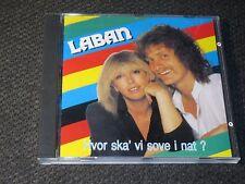 Laban. Hvor Skal Vi Sove I Nat?. Great Danish pop cd 1982/91. Very Rare.