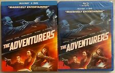 NEW THE ADVENTURERS BLU RAY DVD 2 DISC SET + SLIPCOVER SLEEVE FREE WORLDSHIPPING