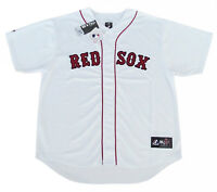 Boston Red Sox MLB Majestic Team Men's Replica Jersey White Big & Tall Sizes