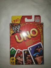 WWE Wrestling Edition UNO Card Game Complete 2010 Mattel