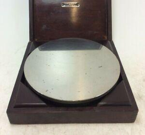 "Pitter Gauge & Tool Co. Circular Surface Table   8"" Diameter   Boxed"
