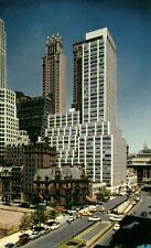 NEW YORK, N.Y., Section of Park Avenue south of Grand Central Terminal (1970s)