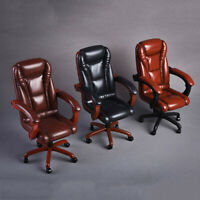"""1/6 Office Swivel Chair Model Accessories for Hot Toys Phicen 12"""" Action Figure"""