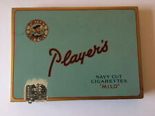 "Player's Cigarette Tin, Navy Cut Cigarettes ""Mild"""