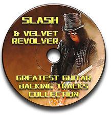 SLASH & VELVET REVOLVER STILE MP3 HEAVY METAL ROCK CHITARRA SUPPORTO JAM TRACCE