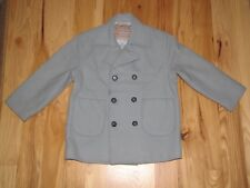 GIRL KID CHILD VALENTINO GARAVANI JUNIOR JEANS WOOL JACKET PEACOAT COAT 120 6 8