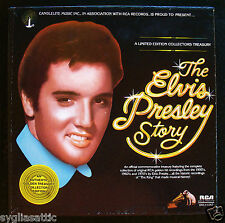 ELVIS PRESLEY-THE ELVIS PRESLEY STORY-5 ALBUM BOX SET-RCA #DML5-0263