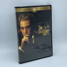 The Godfather Part Iii (Dvd, 2004) Widescreen Collection Like New