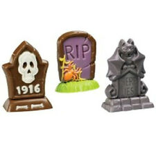 Standup Tombstones Graveyard Halloween Chocolate Candy Mold from Wilton #1415
