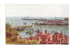 A R Quinton - Folkestone Harbour, Kent - J Salmon postcard No. 947