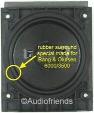 4x Rubber surrounds for speaker repair Bang + Olufsen Beolab 6000, type 8480239