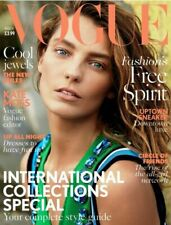 Vogue UK Magazine February 2014 Georgia May Jagger Cover