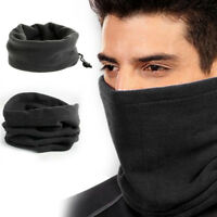 Polar Fleece Thermal Neck Warmer Gaiter Face Mask Snood Hat Scarf Winter Sports