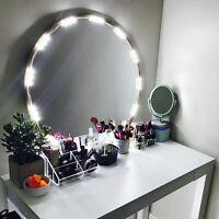 10ft Lighted Mirror LED Light for Cosmetic Makeup Vanity Mirror Kit 20 LED Bulb