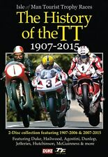 The History of The TT 1907 - 2015 { New 2 DVD set} Isle of Man Hailwood Agostini