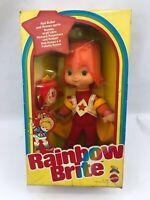 IRIDELLA doll RAINBOW BRITE RED BUTLER ROMEO SPRITE Poupée Mattel 1983 NEW