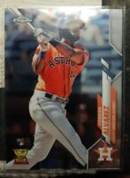 2020 Topps Chrome #200 Yordan Alvarez RC Gold Cup Houston Astros