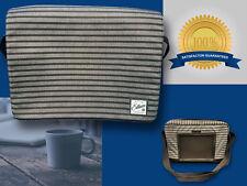 "Ellum Laptop & Messenger Carry Bag for up to 17"" Laptop w/Adjustable Strap NEW"