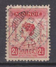 Nederlands Indie Netherlands Indies 134 TOP CANCEL DJAMBI Wilhelmina 1913