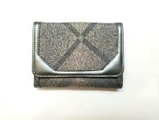 NWT Authentic Burberry Shimmer Check Medium Compact Wallet Nova Check Plaid $250