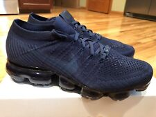 best service 5a580 8be1c Nike Air Vapormax Flyknit College Navy Midnight Navy At9790 414 Womens Size  11