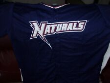 Northwest Arkansas Naturals Throwback Jerseys Give aways 7/13/19 Sizes are Large