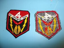 b4859 US Air Force Gun Ship 4th Air Commando Squadron patch IR23A