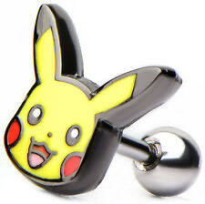 "Pokemon Earring Pikachu Cartilage 18g 5/16""  - BRAND NEW"