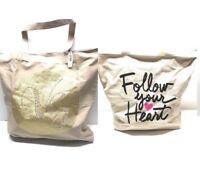 tote bag shopper beach travel set 2 Victoria secret bath body works
