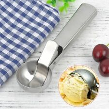 Purees Meat Balls Clip Stainless Steel Frozen Yogurt Ice Cream Scoop&Spoon