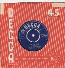 THE ROLLING STONES..THE LAST TIME.EXCELLENT 1965 DECCA POP / BEAT / CLASSIC ROCK