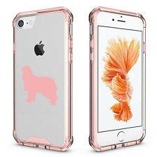 For iPhone 6 6s 7 Plus Clear Shockproof Case Cover Cavalier King Charles Spaniel