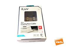 iLUV iCB705 iCB705WHT MINI DISPLAY PORT CABLE 6ft 1.8m APPLE MAC PRO MACBOOK