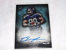 2012 Topps Inception ROBERT TURBIN #127 Blue Rookie Auto RC/150 Seahawks COLTS