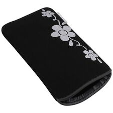 Hülle Silver Flower Case Tasche für Samsung S5230 Star