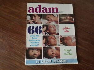Magazine ADAM La Revue de l'Homme Nr 308 (Janvier 1966) Mode NATHALIE WOOD