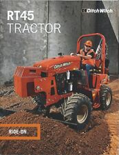 Equipment Brochure - Ditch Witch - RT45 - Tractor and Attachments - 2014 (E4707)