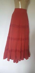 Anne Weyburn Crinkle Maxi Skirt Size 20