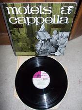 Motets a cappella: PALESTRINA LASSUS... / Chorale Philippe Caillard Erato stereo