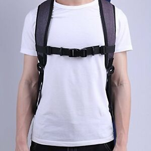 Adjustable Bags Backpack Webbing Sternum Chest Harness Buckle Clip Strap Tools*