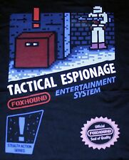 """Tactical Espionage"" NES 8bit Metal Gear Women's Small Shirt Theyetee"