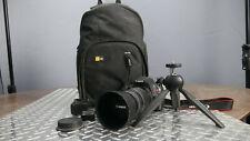 Canon Rebel T5 EOS 1200D Digital SLR Camera Kit EF75-300mm, Bag, Mini Tripod