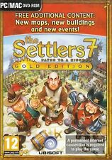 THE SETTLERS 7 PATHS TO A KINGDOM GOLD EDITION for PC/MAC SEALED NEW