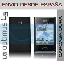 CARCASA FUNDA DURA NEGRA LG OPTIMUS L3 E400 EN ESPAÑA