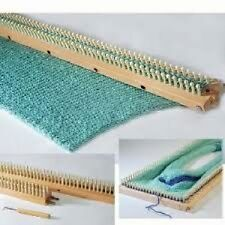 "KB Authentic Knitting Board 28"" Knitting Board Loom With Peg Extenders KB6435"