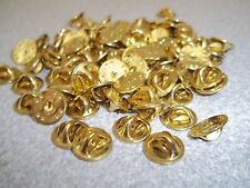 25 New Butterfly Fastener Clasps for Pin Badges, Name Tags, - Made in USA