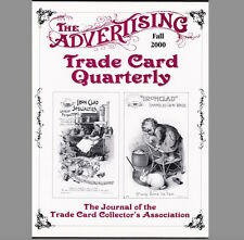 '00 Fall 2000 Advertising Trade Card Journal Resource ATCQ Quarterly MAGAZINE