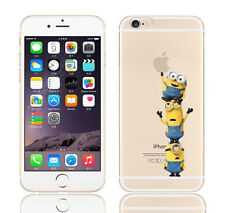 Case/Cover Apple iPhone 5 5s SE + Screen Protector / Silicone Minions Easy for 3