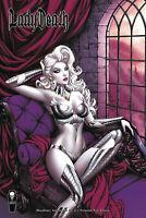 LADY DEATH BLASPHEMY ANTHEM #1 PREMIUM FOIL RICH COVER (MR) (COFFIN COMICS 2020)